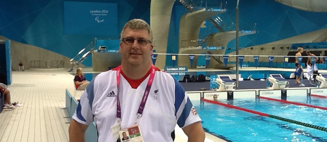 Glenn Smith at the London Paralympics